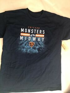 36e22692f7c Chicago Bears Monsters Of The Midway Short Sleeve T-Shirt Youth Size ...
