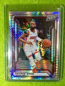 DWYANE-WADE-PRIZM-CARD-JERSEY-3-HEAT-99-SP-REFRACTOR-2019-Panini-National-VIP