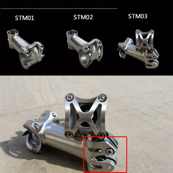 CNC  Integration Titanium bicycle Road MTB bike Ti stem 25.4   31.8 X80 90 100mm  cheap and high quality