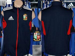 British-amp-Irish-Lions-Adidas-2013-Loisirs-Chaud-Gilet-Haut-Sans-Manches-Climawarm