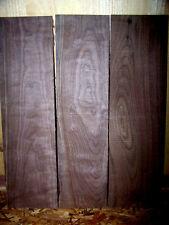 """12 THIN KILN DRIED CLEAR SANDED BLACK WALNUT 12"""" X 6"""" X 1/4"""" LUMBER WOOD"""