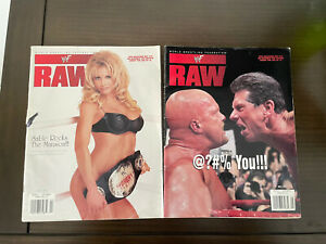 WWF Raw Magazine Stone Cold Steve Austin 3:16 Cover Pro