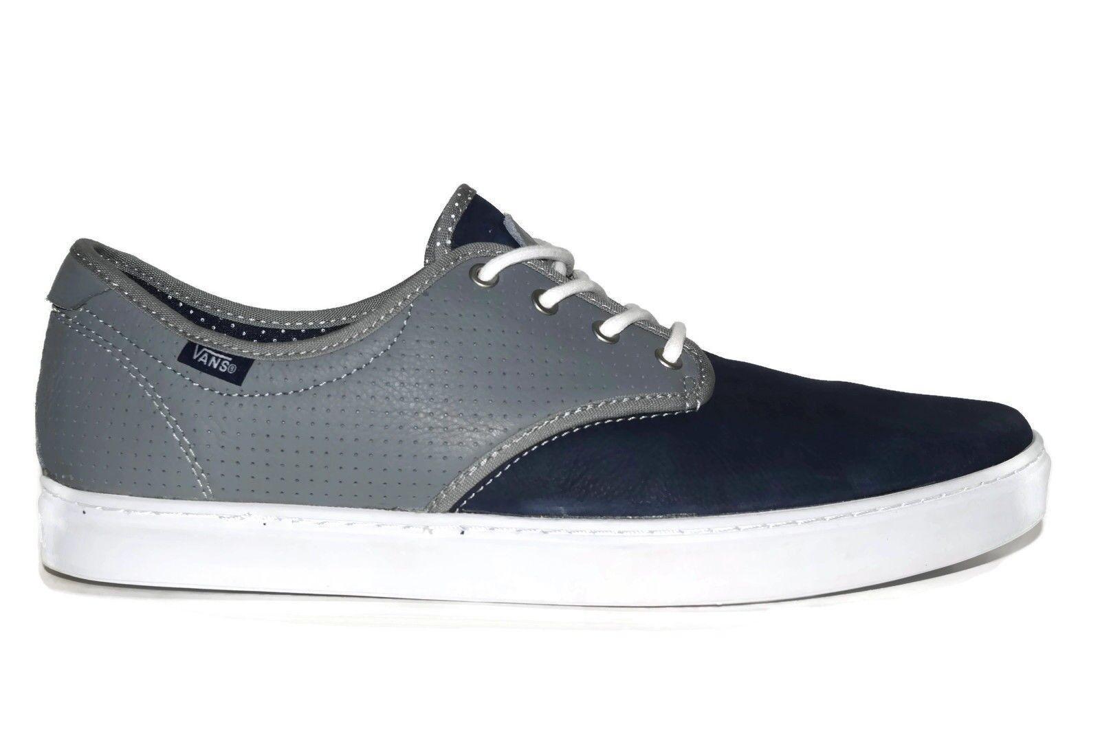 Vans Ludlow (Dots) Navy/Grey/Whit<wbr/>e OTW Skate Casual Classic MEN&#039;S 6.5 WOMEN&#039;S 8