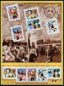 Frankreich-Kleinbogen-im-Folder-MiNr-3453-57-postfrisch-MNH-Sport-GF11140