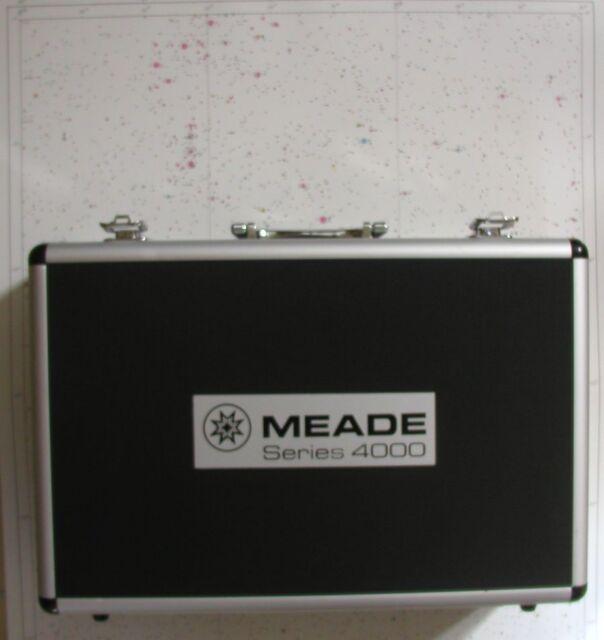 Meade telescope eyepiece accessory aluminum case