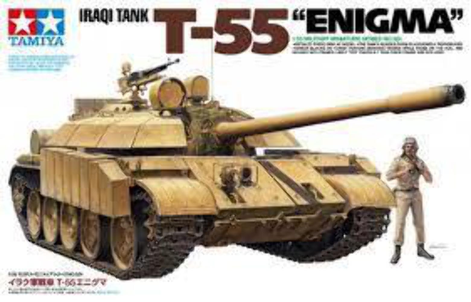 Tamiya Iraqi Tank T-55  Enigma