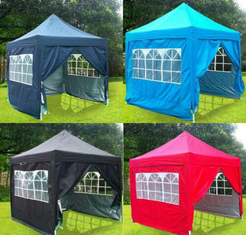 Quictent Silvox® 8x8/' Pop Up Canopy Gazebo Party Tent Pyramid-roofed 8 Colors