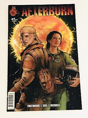 Super Hot Afterburn #1 NM Red 5 Comics Optioned Gerard Butler to Star