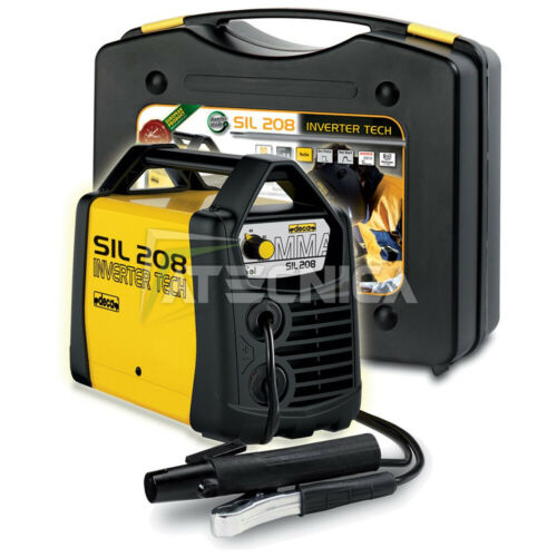 Saldatrice inverter ad elettrodo DECA SIL 208 80 AMP corrente continua