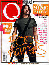 Q Magazine,Dave Grohl Foo Fighters,Coldplay,Beady Eye,Noel,Snow Patrol,Muse  NEW