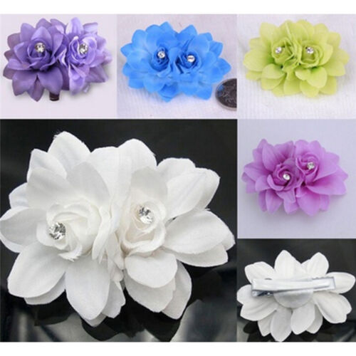 Womens Fashion Flower Haarspange Haarnadel Braut Hochzeit Haarschmuck YR