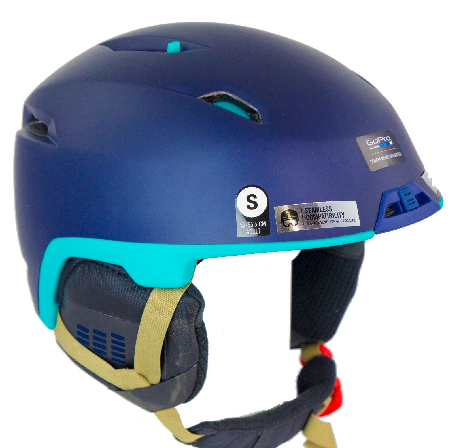 NEW  180  Mens Giro Edit Navy bluee Go-Pro Snowboarding Skiing Helmet Smith Small  lowest prices
