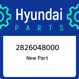28260-48000-Hyundai-Pipetc-to-exhaust-manifold-2826048000-New-Genuine-OEM-Part