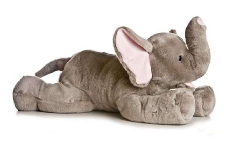Elephant Stuffed Toy : Large stuffed elephant super soft toy giant plush animal