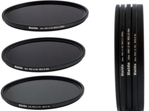Slim PRO II MC Digital ND Graufilterset ND8 ND64 ND1000 Größe 43 mm