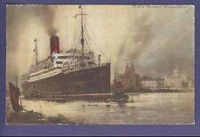 RMS Samaria Color Postcard - Cunard Line