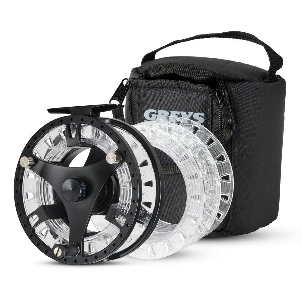 Graus Cassett GTS500 Cassett Graus Fly Reel Fully Loaded Spools - All Größes Available 0cfd46
