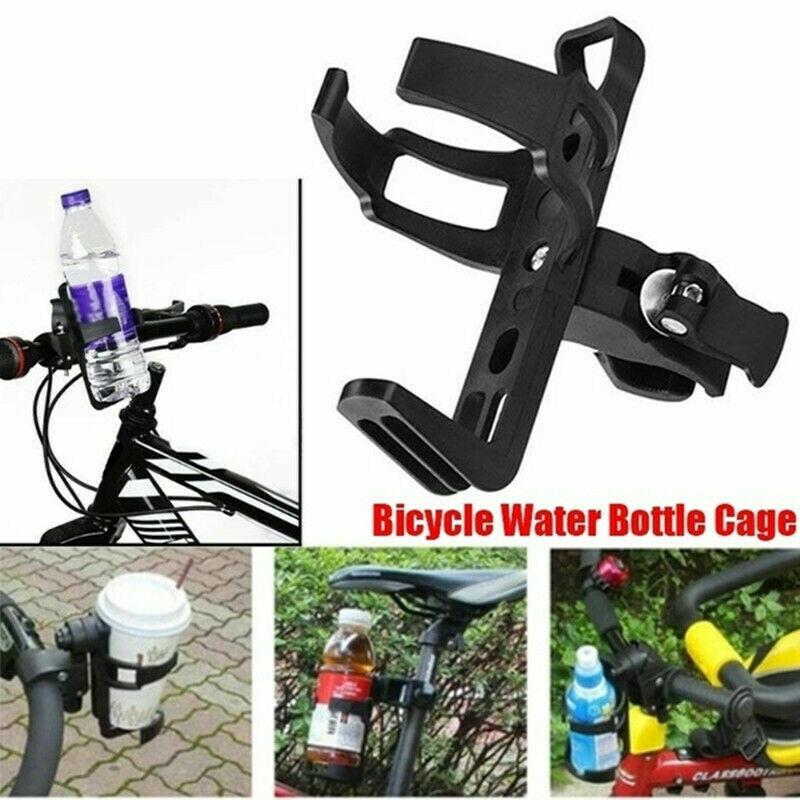 Bike Handlebar Drink Cup Holder Water Bottle Rack Cage Holder Bottle Cage KW