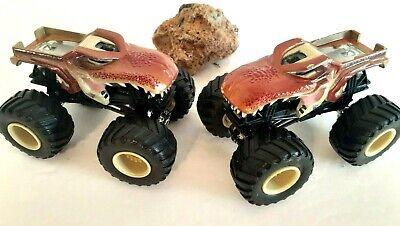 Hot Wheels 1 64 Mega Wrex T Rex Dinosaur Monster Jam Trucks 2 Free Ship Ebay