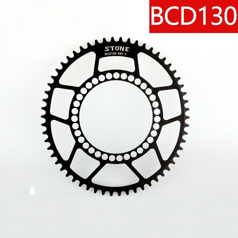 BCD130 Oval Chainring Narrow Wide 1 x system for  Folding Road bike 5 bolts  in stadium promotions