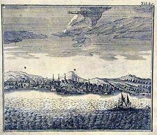 Antique map, Gallipoli