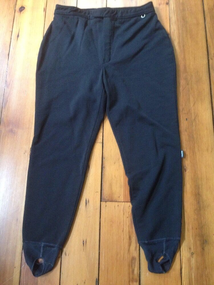 Vtg Roffe Schoeller Skifans Nylon Womens Ski Pants USA Union Made 18R 34