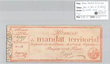 MANDAT TERRITORIAL - 100 FRANCS (AVEC LE N° DE SERIE) 28 VENTOSE AN 4 BASQUE