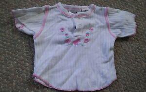 000-Cute-Girls-Small-Talk-6-9-Months-Pink-Flowers-Rose-Shirt
