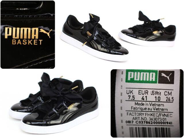 basket puma noir 26