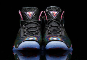 sale retailer d9b3c 42481 Image is loading Nike-Chuck-Posite-Purple-Haze-charles-Barkley-Men-
