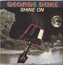 "GEORGE DUKE - Shine on - VINYL 7"" 45 LP ITALY 1982 NEAR  MINT COVER VG+"