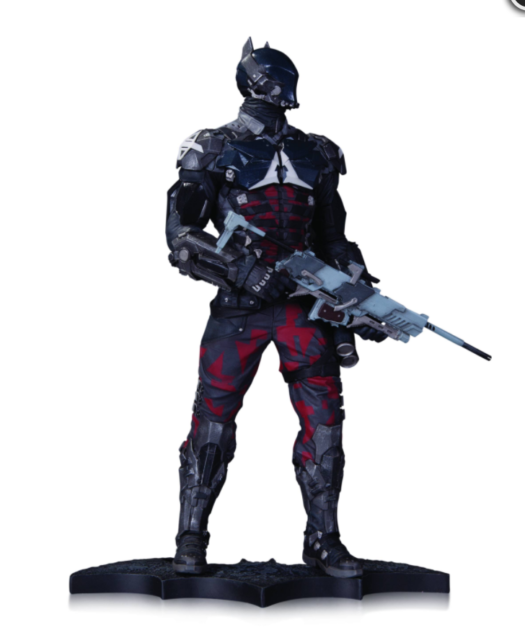 DC COMICS ARKHAM KNIGHT BATMAN STATUE (2015 RELEASE)  (FACTORY SEALED)
