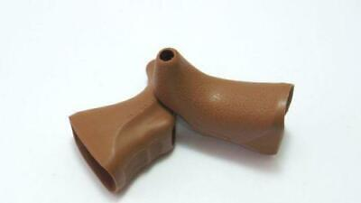DIA COMPE  202 and 204 traditional brake lever hoods brown non aero style 1Pair