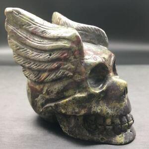 Natural-Dragon-Blood-Stone-Quartz-Carved-Alienware-Healing-Polished-Specimen