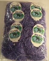 10 Balls Metal Wink Eyelash - Light Purple Mw307 - Dark Horse Yarns Nip S