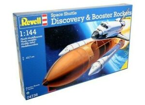 REVELL-1-144-DISCOVERY-SHUTTLE-amp-BOOSTER-ROCKETS-MODEL-SPACE-SHIP-KIT-04736