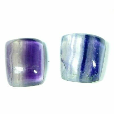 Natural flourite oval shape  for jewelry cabochons stone loose gemstone top quality handmade gemstone jewelry 31x19x5m 32.5.cts
