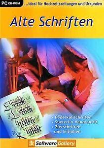 Alte-Schriften-von-dtp-Entertainment-AG-Software-Zustand-gut