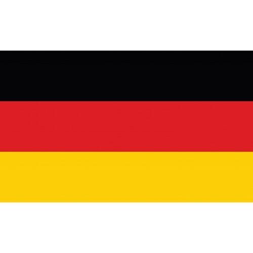 Drapeau Autocollant Allemagne 5 cm LabelOcean