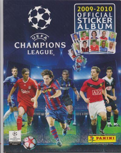 kompletter Satz Panini Champions League 2009//2010 leeres Album
