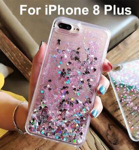 moving glitter iphone 8 plus case
