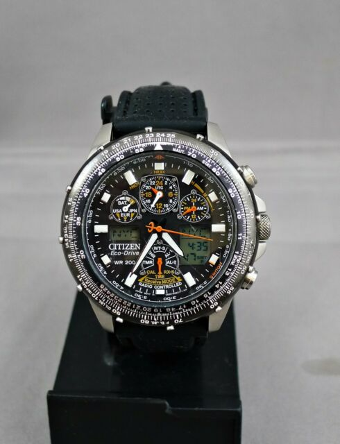 Citizen Eco-Drive Skyhawk AT Wrist Watch for Men JY0000-02E Radio Controlled