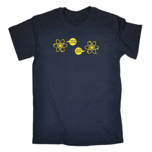 Funny Kids Childrens T-Shirt tee TShirt I Lost An Electron Are You Positive