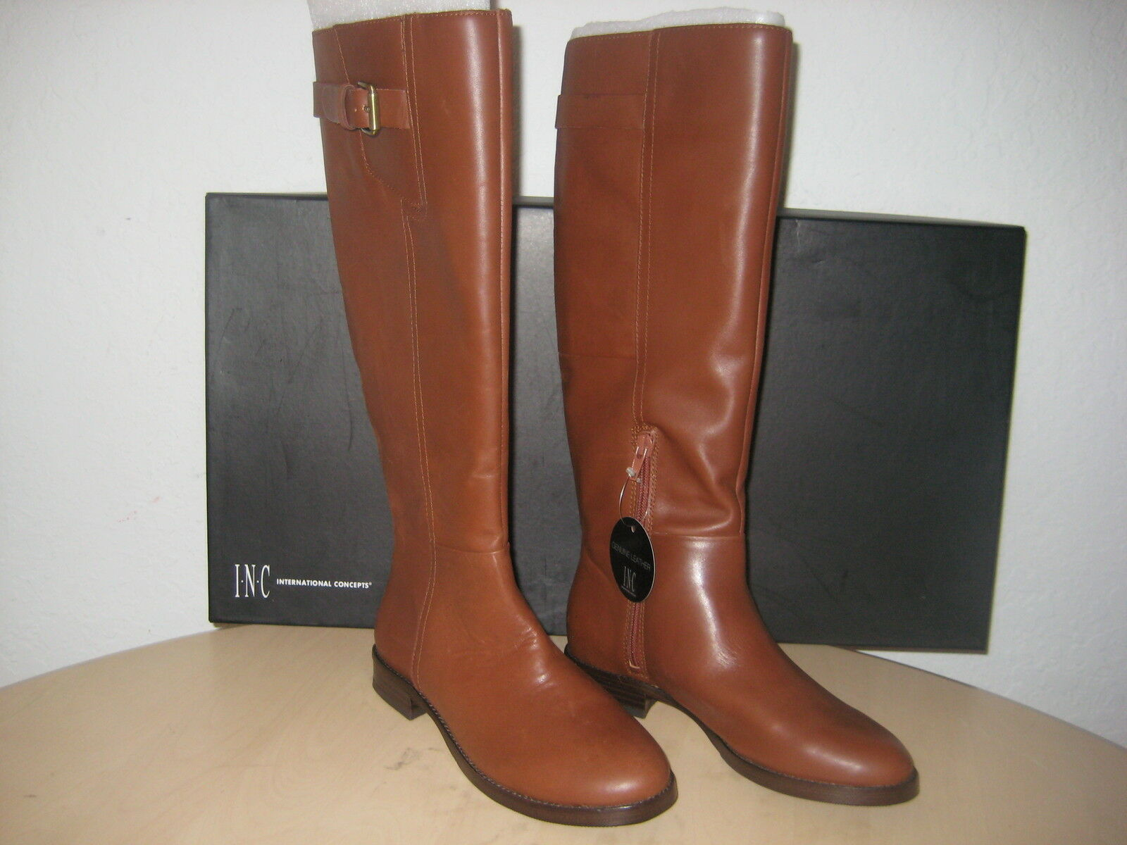 INC International Concepts shoes Size 5.5 M Womens New Coco Brown Fashion Boots