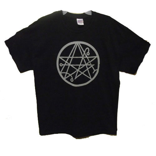 Sigil of the Gateway t shirt occult necronomicon men shirts Small to 2 Extra Lg