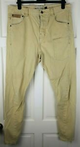 Tan Brown Robelli Men/'s Tailor Skinny Stretch Fit Chino Cotton Blend Trousers