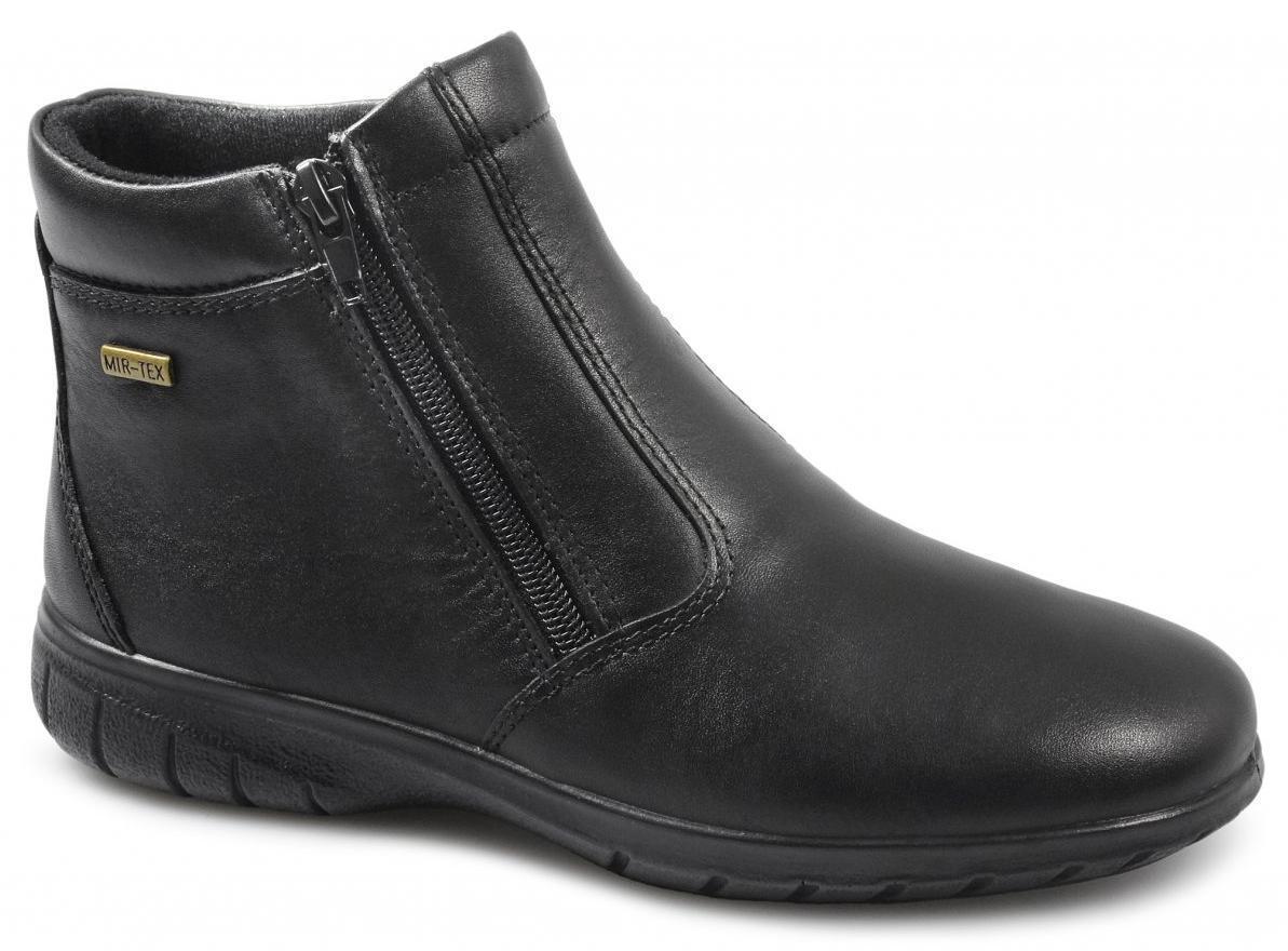 Cotswold deerhurst Para Mujer Damas Impermeable Comfy cálido Suave Doble cremallera botas Negro