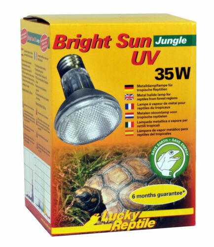 Chanceux Reptile Soleil Jungel Uv 35W / Lampe Uva Uvb
