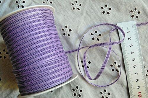 Solid Stitch Centre 3mm Wide 5 Metre Length 10 Combo Colour Choice Ribbon 387 H2