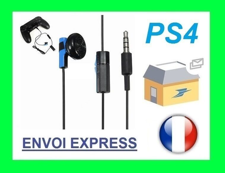 Official Sony PS4 PLAYSTATION 4-dans-oreille Mono Headset Helmet & Micro New